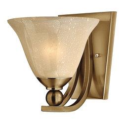 Hinkley Lighting - Hinkley Lighting 4650BR Bolla 1 Light Wall Sconces in Brushed Bronze - 1Lt Sconce