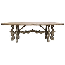 Farmhouse Dining Tables by Kathy Kuo Home