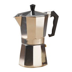 Primula - Primula Aluminum Stovetop Espresso Coffeemaker - If you want authentic espresso made at home, this espresso coffee maker delivers it.