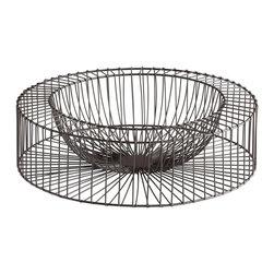 Cyan Design - Small Wire Wheel Tray - -Small Wire Wheel Tray