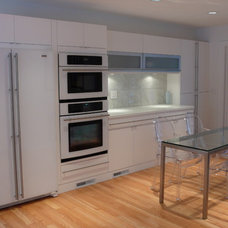Contemporary Kitchen by Poggenpohl NY Downtown