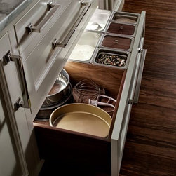 Trish Namm - Dry Goods Drawer by Quality Custom Cabinetry - available through Kent Kitchen Works