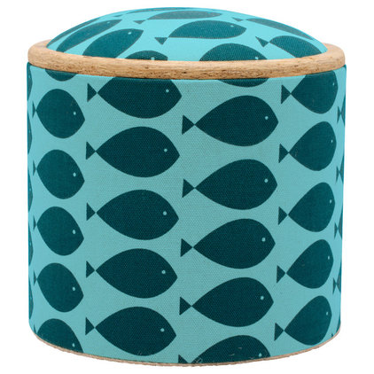 Beach Style Footstools And Ottomans by Patron Design