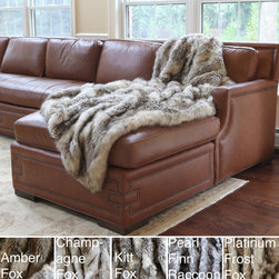 None - Wild Mannered Luxury Long Hair Faux Fur 60x84 Lap Throw - Luxuriate in elegance and style with the Wild Mannered faux fur throw. This generously sized throw is an ideal accent for any home,as well as providing extra warmth on cold winter evenings. This throw is backed with a durable polyester knit.
