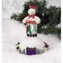 Christmas Music Box White Plastic - Christmas Music Box - This distinctive snowman music box plays a cheering rendition of Winter Wonderland. Measures 4 3/4 in. wide x 7 in. high. Shop now at rensup.com and get FREE complimentary shipping for orders over $125