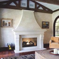 Custom Fireplace Mantels -