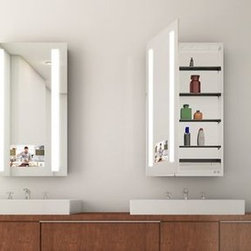 Medicine Cabinet Options from Electric Mirror - Visionary - Electric Mirror - Valley Light Gallery