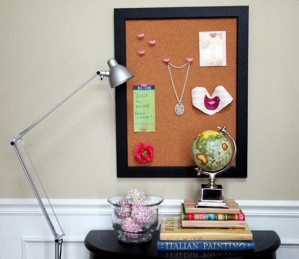 Eclectic Home Office by Shoshana Gosselin