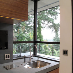 Quantum Windows & Doors | Reveal Architecture & Interiors - Laurie Black  Photography: