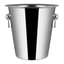 Cuisinox - Cuisinox Champagne/Wine Bucket - This large champagne or wine bucket is a fine way to keep white wine or champagne cold for hours. With its durability and timeless style, this champagne bucket is ideal for restaurants or in your home. Fits into our stand (STD33) or can be placed on your table.