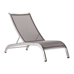 Lucca '3 Series' Armless Lounge Chair - Are these not the perfect loungers for a city terrace? Sleek and modern with a no-frills look, they really fit the bill.