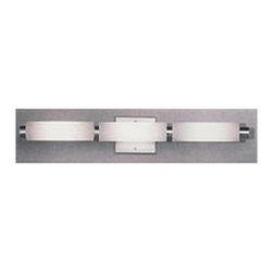 Illuminating Experiences 6 Light Halogen Aluminum Bath Bar - *Luminous tube design.
