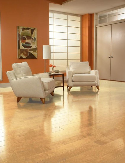 Contemporary Wood Flooring by Paul Anater
