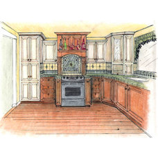 Traditional Rendering by Wyland Interior Design Center