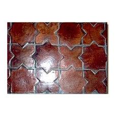 Handmade Clay Floor Tile, Granada Floor Tile, Veracruz Floor Tile