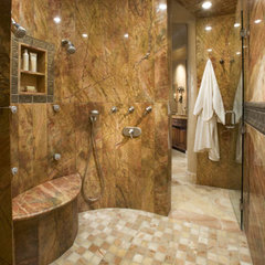 modern bathroom by Stockett Tile &amp; Granite Company