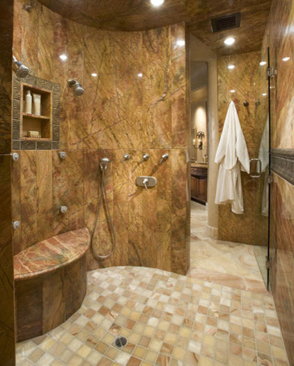 Modern Bathroom by Stockett Tile & Granite Company