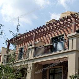Balcony attached pergola kits - Balcony attached pergola kits