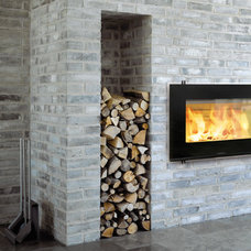 Modern Fireplaces by The HOT SPOT