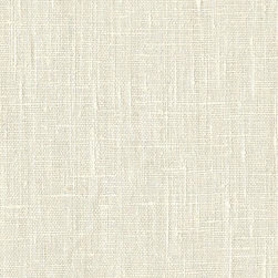 European Linen Fabric, Cream - I'm going to reupholster a sofa in linen like this.