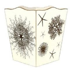 Marye-Kelley - Sea Urchins Wastebasket - Sea Urchins Wastebasket