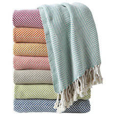contemporary throws by Serena & Lily
