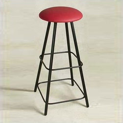 "Grace - 36"" Straight Leg Swivel Stool - Features: -Painted according to your choice of metal finish. -Ships fully assembled.-15"" Diameter Seat. -Dimensions: 16"" W x 16"" D x 36"" H. -Artistically crafted in wrought iron. -Available in 12 designer metal finishes. -Suited for Residential use only. About Grace Grace Manufacturing is a metal and wrought iron furniture manufacturing company located in Rome, GA. The company has been in business for 25 years and continues to employ skilled artisans and craftsmen. In addition to their state of the art manufacturing equipment they still assemble and finish many products by hand. Many items in the Grace Collection are fully hand made or hand painted. With products ranging from barstools, counter stools, and dinettes to wrought iron beds, hanging potracks, bakers racks and more, Graces line meets all professional and home needs. By implementing unique styles and ideas to traditional products, Grace has created an exceptional balance between creativity and practicality. Their design styles range somewhere between whimsical, neo classic and traditional, thus creating a truly astonishing decor for any inside space."