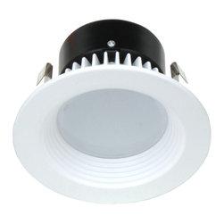"""Dolan Designs - Dolan Designs 10901-05 Recesso 4"""" baffle white - Dolan Designs 10901-05 Recesso 4"""" baffle white"""