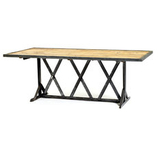 Industrial Dining Tables by Indeed Decor