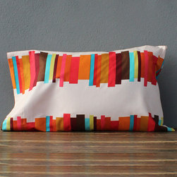 idlewild: stacked standard pillowcases - pair - view this item on our website for more information + purchasing availability: http://redinfred.com/shop/category/free-shipping/idlewild-stacked-standard-pillowcases/