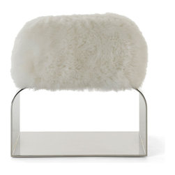 Diva Stool - OK, are you imagining this fluffy Diva stool in your bathroom yet? I love how whimsical and inviting it is.