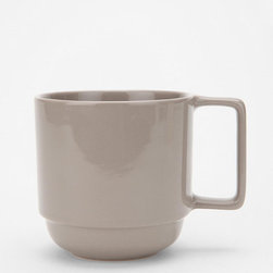 Well-Stacked Mug - A cute, simple and stackable mug for your morning coffee or evening tea at your desk.
