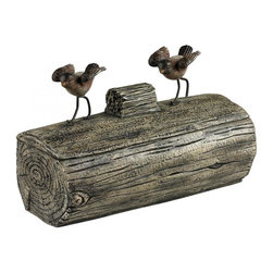 Sterling Industries - Little Birds On A Log Box - Little Birds On A Log Box
