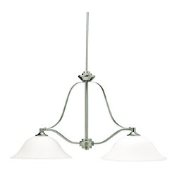Kichler - Kichler Langford Island/Billiard Fixture in Brushed Nickel - Shown in picture: Kichler Island 2Lt in Brushed Nickel