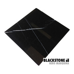 $7.95 Premium Nero Marquina Marble Tile - Not your regular Nero Marquina.  Premium marble tile from The Builder Depot.