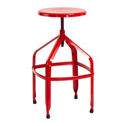 Industrial bar stools counter stools shop for barstools - Bright colored bar stools ...