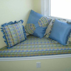 Traditional Pillows by Bellagio Window Fashions