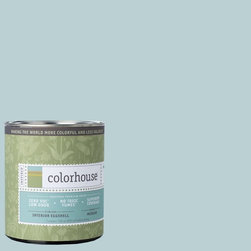 Inspired Eggshell Interior Paint, Water .03, Quart - Color house paint are zero VOC, low-odor, Green Wise Gold certified and have superior coverage and durability. Our artist-crafted colors are designed to be easy backdrops for living. Color house paints are 100% acrylic with no VOCs (volatile organic compounds), no toxic fumes/HAPs-free, no reproductive toxins, and no chemical solvents.