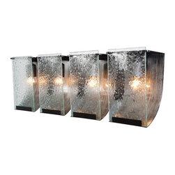 Varaluz - Varaluz 160B04 Rain 4 Light Vanity - Features: