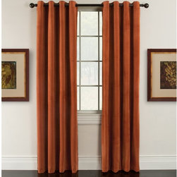 Arlee Home Fashions - Arlee Home Fashions Luxor Velvet Blackout Grommet Panel Pair - 29-41436BRK - Shop for Curtains and Drapes from Hayneedle.com! Featuring colors that are just as rich and true as real velvet and made to drape perfectly the Arlee Home Fashions Luxor Velvet Blackout Grommet Panel Pair create a look of luxurious elegance in your home. Available in your choice of size and color these drapes are crafted from 100% polyester with grommets which makes it easy to hang them from almost any decorative curtain rod. Designed for practicality as well as style these curtains lower your home heating and cooling costs by up to 25% and also blocks out 99% of the light and up to 40% more noise than regular curtains. The grommets on these curtains make them easy to hang on any decorative curtain rod. Beautiful and sophisticated these curtains are the perfect way to finish any room. Additional Features Made with soft and subtle yarns Colors are rich and true like real velvet Lowers home heating and cooling costs Lowers costs by up to 25% Blocks out 99% of outside light Blocks up to 40% more noise About Arlee Home FashionsArlee Home Fashions Inc. manufactures and markets household textiles like decorative pillows chair pads floor cushions curtains table linens and pet beds. The company was incorporated in 1976 and is based in New York New York.