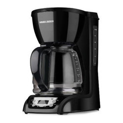 Black & Decker - Black & Decker DLX1050B 12-Cup Programmable Coffeemaker - Black - 050875535855 - Shop for Coffee Makers from Hayneedle.com! Black and Decker/ApplicaA household name with the reputation for quality and innovation Black & Decker is a leader in small home appliances and number one in a wide range of products for the home. As the exclusive licensee of Black & Decker household products in North South and Central America (excluding Brazil) Applica offers household solutions in award-wining designs to help make life easier and more comfortable at home. From irons toaster ovens and can openers to cooking appliances and food steamers Applica is dedicated to bringing you the cutting-edge Black and Decker products that streamline your daily life and make being at home more enjoyable.