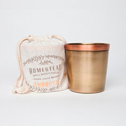 Ambrosia Candle Cup in Cotton - By Laguna Furnishings - Candles & Home Fragrance in Westlake Village CA - http://www.lagunafurnishings.com/catalog/candles-and-home-fragrence
