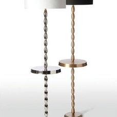 Eclectic Floor Lamps by Candelabra