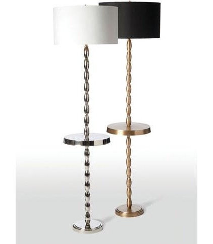 eclectic floor lamps by Candelabra