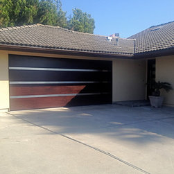 Modern Contemporary Garage Doors - Tungsten Royce