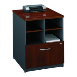 """BBF - Bush Series C 24"""" Storage Unit in Hansen Cherry - Bush - Filing Cabinets - WC24404 - From private offices to workstations Series C configures in dozens of ways giving you the flexibility to design your workspace in the way that best suits your working style.Features:"""
