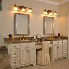 Traditional Bathroom by Stonewood Kitchen and Bath