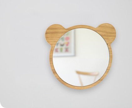 contemporary mirrors by Gretel