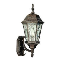 Trans Globe - Trans Globe 4715 Bronze 1-Light Coach Lantern - Trans Globe 4715 BRZ 1-Light Coach Lantern