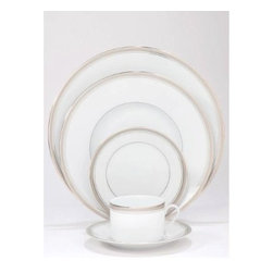 Philippe Deshoulieres - Philippe Deshoulieres Excellence Grey 5-Piece Place Setting - Philippe Deshoulieres Excellence Grey 5-Piece Place Setting